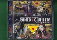 ROMEO + GIULIETTA OST COLONNA SONORA CD NUOVO SIGILLATO