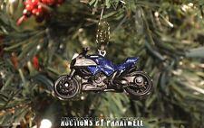 Ducati Motorcycle Motorbike Custom Christmas Ornament 1/64th Adorno Cycle Honda