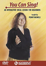 Learn to Sing YOU CAN Vocal Lesson DVD Tutor Singing Pitch EASY TUTOR SONG ART