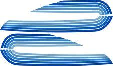 1976 FLH  FL Harley Davidson Tank Decal BLUE Shovelhead Electra Glide