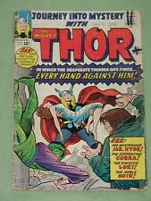 Journey Into MYSTERY The Mighty THOR - #110-1964, Every Hand Against Him! VG