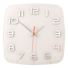 NeXtime Classy Wall Clock - Square 30 X 30cm - White
