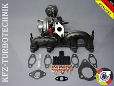 Turbolader Sharan Seat Polo 1,9l 038253019H ASZ BLT BRT 96KW KKK + Montagesatz