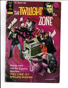 Twilight Zone #54 Gold Key 1974 GD/VG 3.0