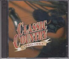 TIME LIFE Classic Country 1960-1964 Various Artists 2CD Brenda Lee Dave Dudley