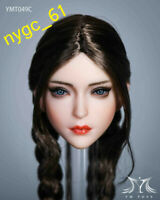 YMTOYS YMT049c 1/6 Asia Beauty Girl Head Carving fit 12'' Female Phicen Figure