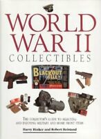 World War II Collectables: The Collector's Guide to... by Rinker, Harry Hardback