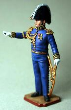 Painted Tin Toy Soldier General Henri Rottenburg 54mm 1/32
