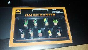 OO/HO Scale Gaugemaster Flowers Pots GM106 GM107 Garden Wild Flowers GM175 GM178