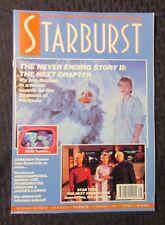 1991 Marvel Comics STARBURST Magazine #140 VF Never Ending Story - Star Trek