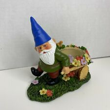 Yankee Candle Garden Gnome Votive Tealight Candle Holder