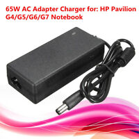 65W AC Adapter Charger Cord Replacement power For HP Pavilion G4 G5 G6 G7 Laptop