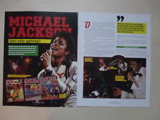 Michael Jackson 4 pages clippings Sweden Swedish