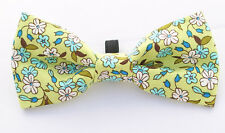 Autumn Blossom Dicky Bow Tie - MEDIUM- for Puppy , Dog , Cat - PPB