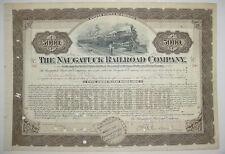 Naugatuck Railroad Company Bond Stock Certificate Connecticut New Haven