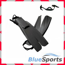 APOLLO BIO-FIN PRO - Size XL - Rubber Straps, Nature's Wing, Navy Swim Fins