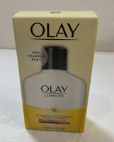 Olay Complete - All Day Moisture - SPF 15 - Skin Cream - 4oz - Exp 10/19