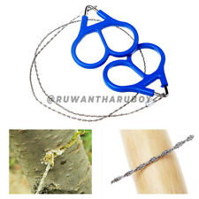 New listing Field Survival Stainless Wire Camping Chain Hand Saw Cutter Outdoor Emergency