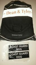 Dean & Tyler DT Fun Harness Chest Pad Reflective Trim Coast Guard Patch XL