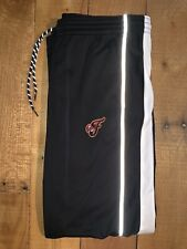 Women's Adidas Climalite Indiana Fever Black WNBA Basketball Sweatpants Large