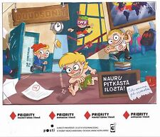Finland 2014 MNH Sheet - The Dudesons Against Bullying at School - Sept 1, 2014