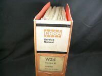 CASE W24 Series B Tractor Loader Service Repair Shop Manual Book Catalog W24B