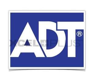 ADT Alarm Indoor/Outdoor Siren Box, Van or Window/Door Double-Sided Stickers