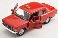 BLITZ VERSAND Fiat 125p TAXI WPT rot / red 1:34 Welly Modell Auto NEU & OVP