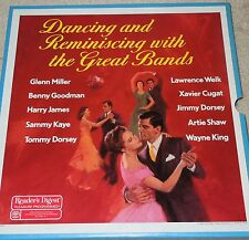 Dancing & Reminiscing with the Great Bands Reader's Digest  7- LPs Box Set 1986