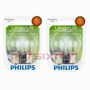 2 pc Philips Tail Light Bulbs for Volvo 940 C70 S60 S60 Cross Country V40 xx