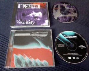 2 CDs Red Snapper Prince Blimey & Making Bones Trip Hop Future Jazz Smoke Beatz