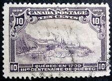 CANADA  1908 - King Edward VII , 10 cent, Scott # 101