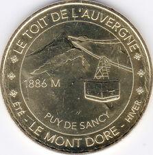 63 LE MONT DORE SOMMET DU SANCY N°4 MÉDAILLE MONNAIE DE PARIS 2016 JETON MEDALS