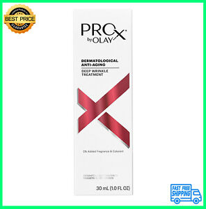 Olay ProX Dermatological Anti Aging Deep Wrinkle Treatment 1 oz Skin Aging