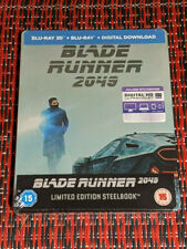 Blade Runner 2049 - Limited Edition Steelbook (Blu-ray 2D/3D) BRAND NEW!!