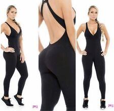 New Fiber Activewear Jumpsuit Romper Long Legging Gym  Colombia Butt Lift Brazil