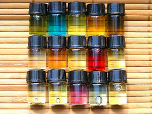 * 15pc Sample Size set WOMENS DESIGNER FRAGRANCES SCENTED OIL BODY OILS GIFT SET