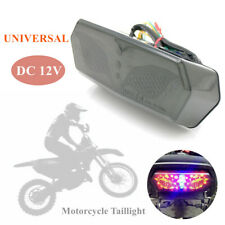 Universal Motorcycle Modification Taillight LED License Plate Cornering Lamp 12V