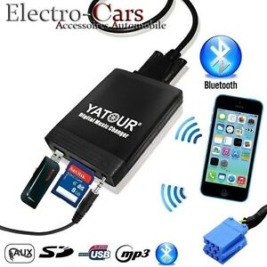 INTERFACE USB BLUETOOTH ADAPTATEUR MP3 AUTORADIO ALFA ROMEO 147 156 159 GT