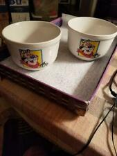 2 Vintage Tony the Tiger Cereal Bowls