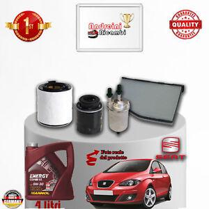 Mantenimiento Filtros + Aceite Seat Altea 1.4 TSI 92KW 125CV 2012- >