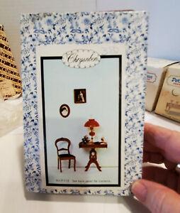 Vintage Chrysnbon Miniature Dollhouse Furniture Kit F-110