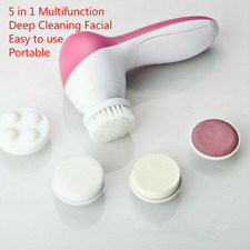5 in1 Multifunction Electronic Face Facial Cleansing Brush Spa Skin Care massage
