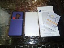 For Samsung Galaxy S9 PLUS Purple Wallet Case & Screen Protector New In Box