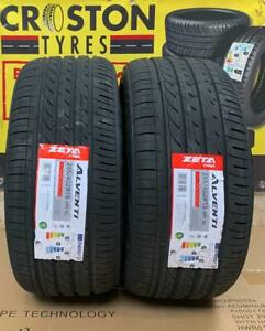 2× 255/40ZR18 XL 99Y ZETA  ALVENTI B/B RATED ENGINEERED IN EUROPE ,QUALITY TYRES