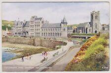 Wales postcard - University and Church, Aberystwyth - P/U 1942