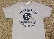 Connecticut Huskies youth Large (10) college football T-shirt! New w/$14.94 tags