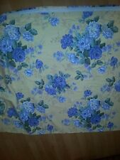 Block Out Continuous Curtaining 7.4m drop/width 220cm Hamptons Style Floral  NEW