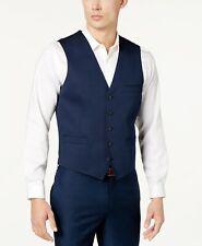 INC International Concepts INC Men's Navy Collins Slim-Fit Vest Small