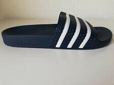 Adidas Adilette Aqua Slides Sandals Shower Beach Adult Blue Flip-Flop US12 EU47
